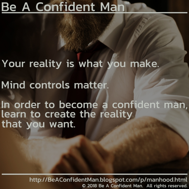(Be A Confident Man) 20180919 0430pm auto-generated poster