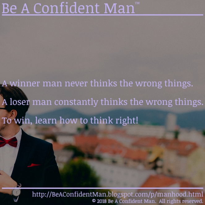 (Be A Confident Man) 20180919 0900am auto-generated poster