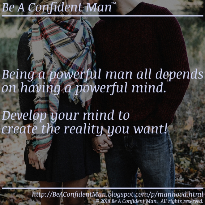 (Be A Confident Man) 20180919 1245pm auto-generated poster