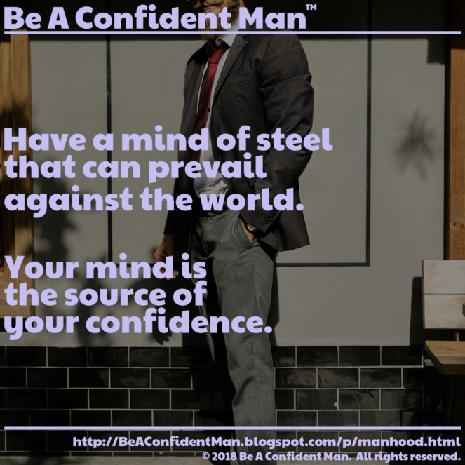 (Be A Confident Man) 20180923 0815pm auto-generated poster