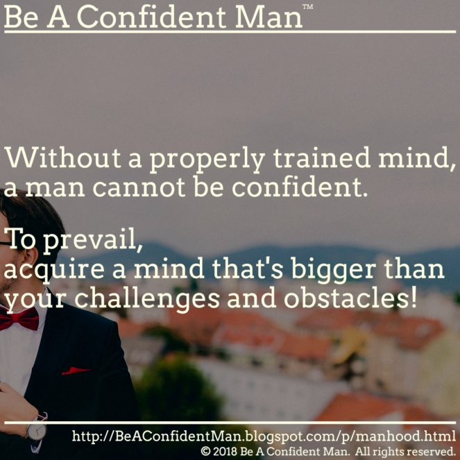 (Be A Confident Man) 20180923 0900am auto-generated poster