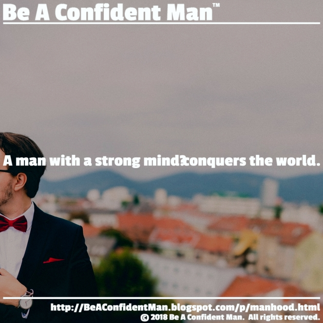 (Be A Confident Man) 20180924 0900am auto-generated poster
