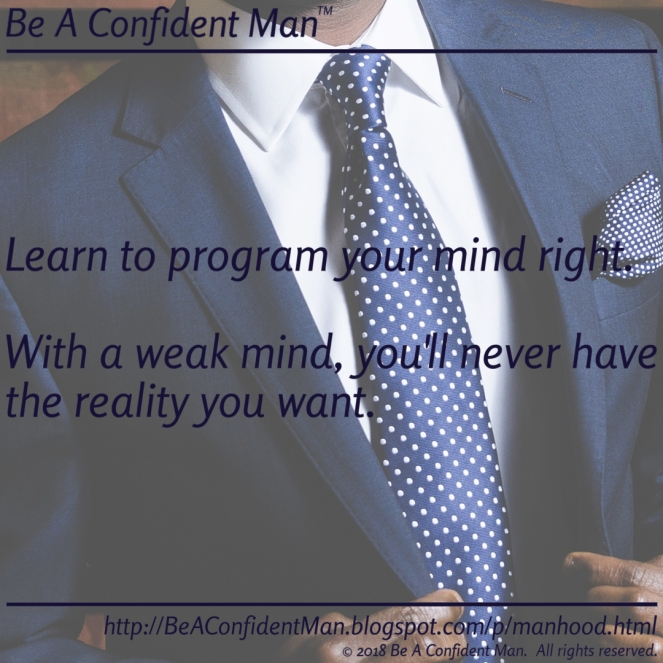 (Be A Confident Man) 20180924 1245pm auto-generated poster